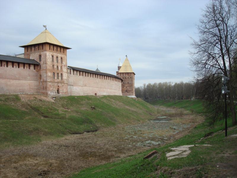 Новгород Великий. Новгородский кремль.