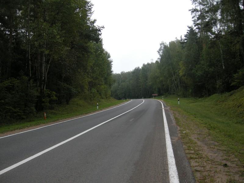 Беларусь, дорога к Хатыни от