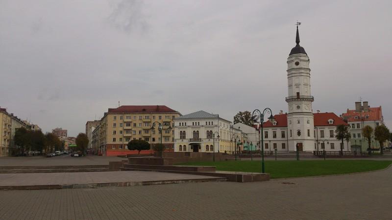 Могилёв, Советская площадь, ратуша