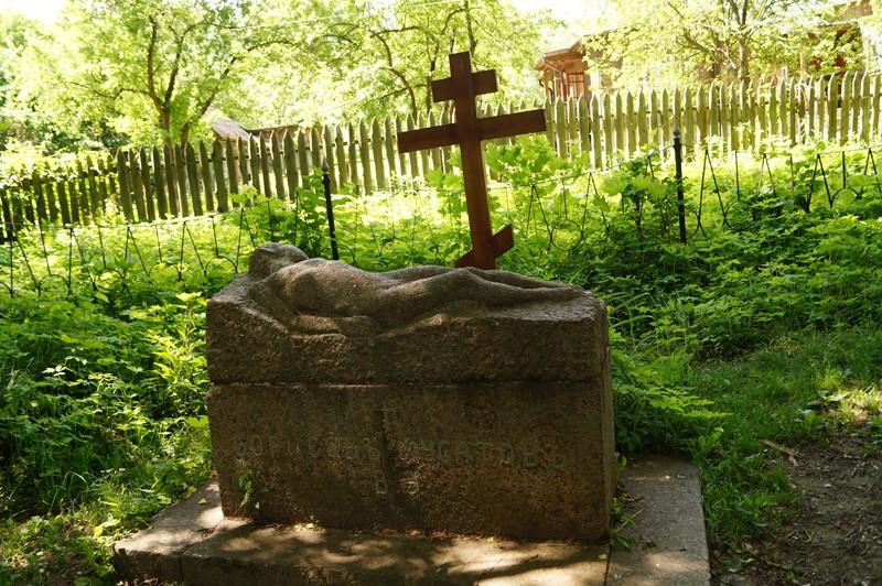 Таруса, могила художника.